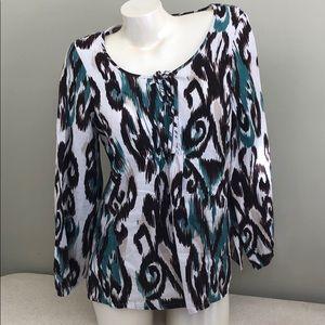 NWOT Linen Style & Co 12P